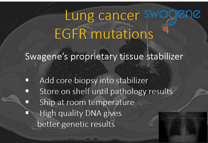 Swagene Lung cancer EGFR mutations Quick Novel